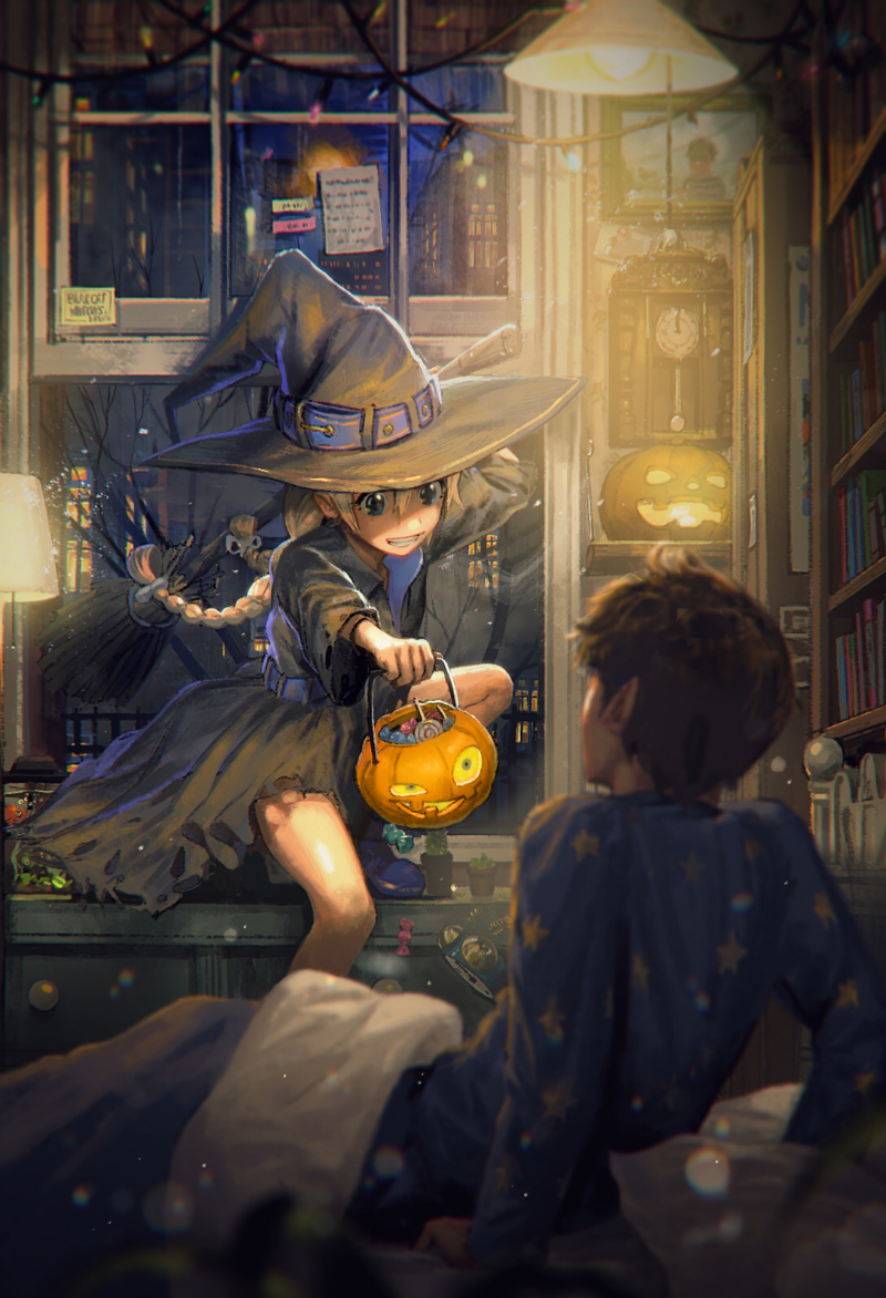 The Art Of Pine Animation Art Anime Halloween Character Art