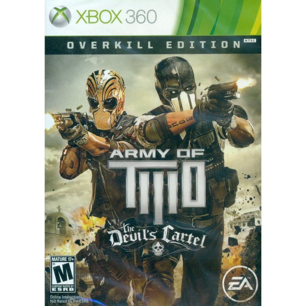Army Of Two The Devil S Cartel Overkill Edition Microsoft Xbox