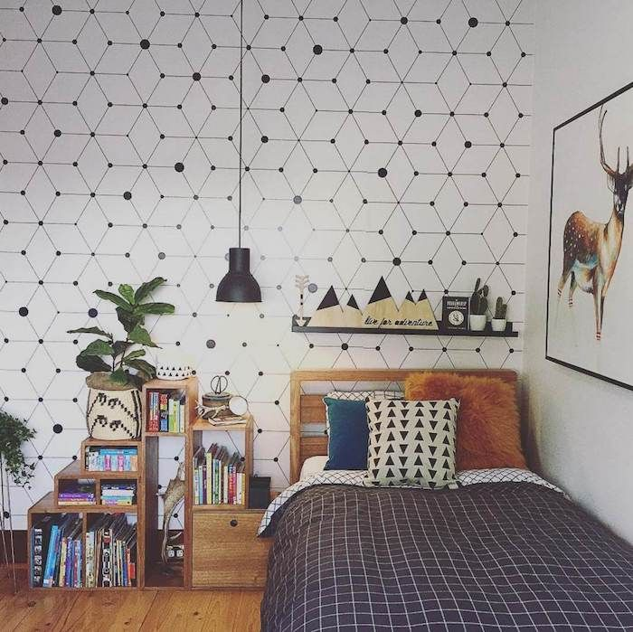 ▷ 1001 + astuces et idées pour choisir un papier peint chambre