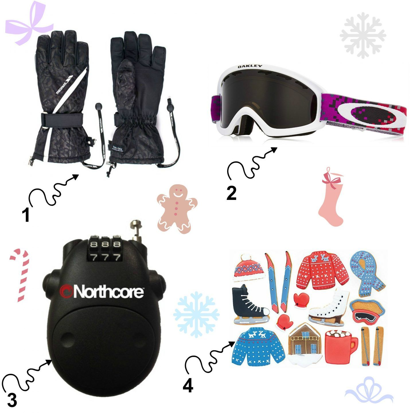 A christmas gift guide for female skiers from under 10