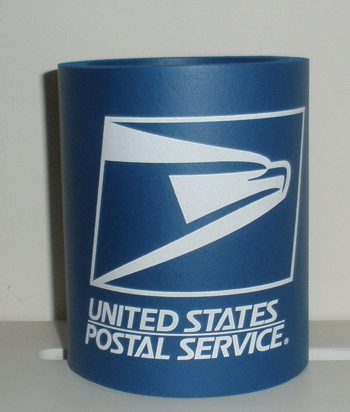 Usps Mail Carrier Postal Worker Can Koozie Postal Worker Mail Carrier Koozies