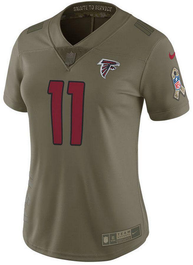 new product c2a3c 27ace Nike Women's Julio Jones Atlanta Falcons Salute To Service ...