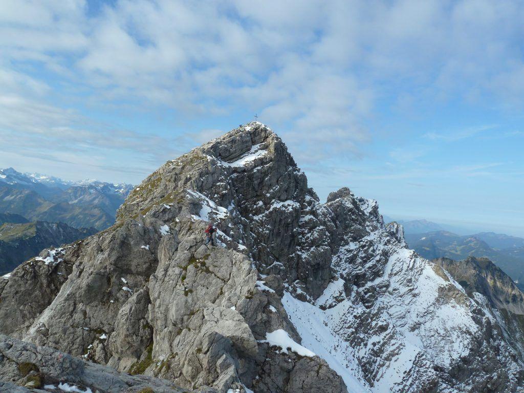 Klettersteig Oberstdorf : Hindelanger klettersteig auf das nebelhorn bei oberstdorf allgäu
