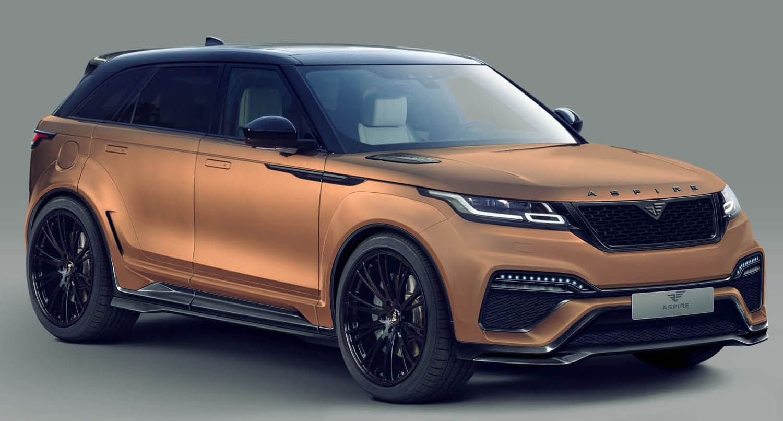 كيت عريض وجديد من أسباير ديزاين ل رانج روفر فيلار موقع ويلز Range Rover Suv Car