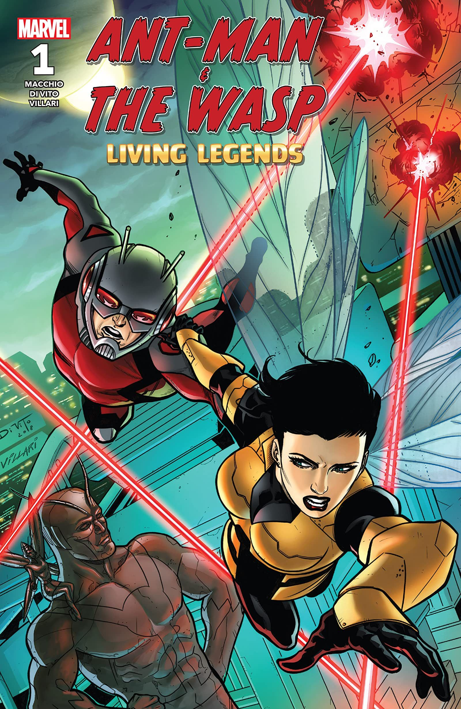 Ant Man The Wasp Living Legends 2018 1 In 2021 Living Legends Ant Man Comics