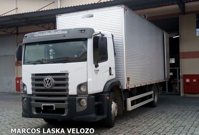 Caminhao Volkswagen Constellation 13 190 Bau Na Cidade De Sao Jose