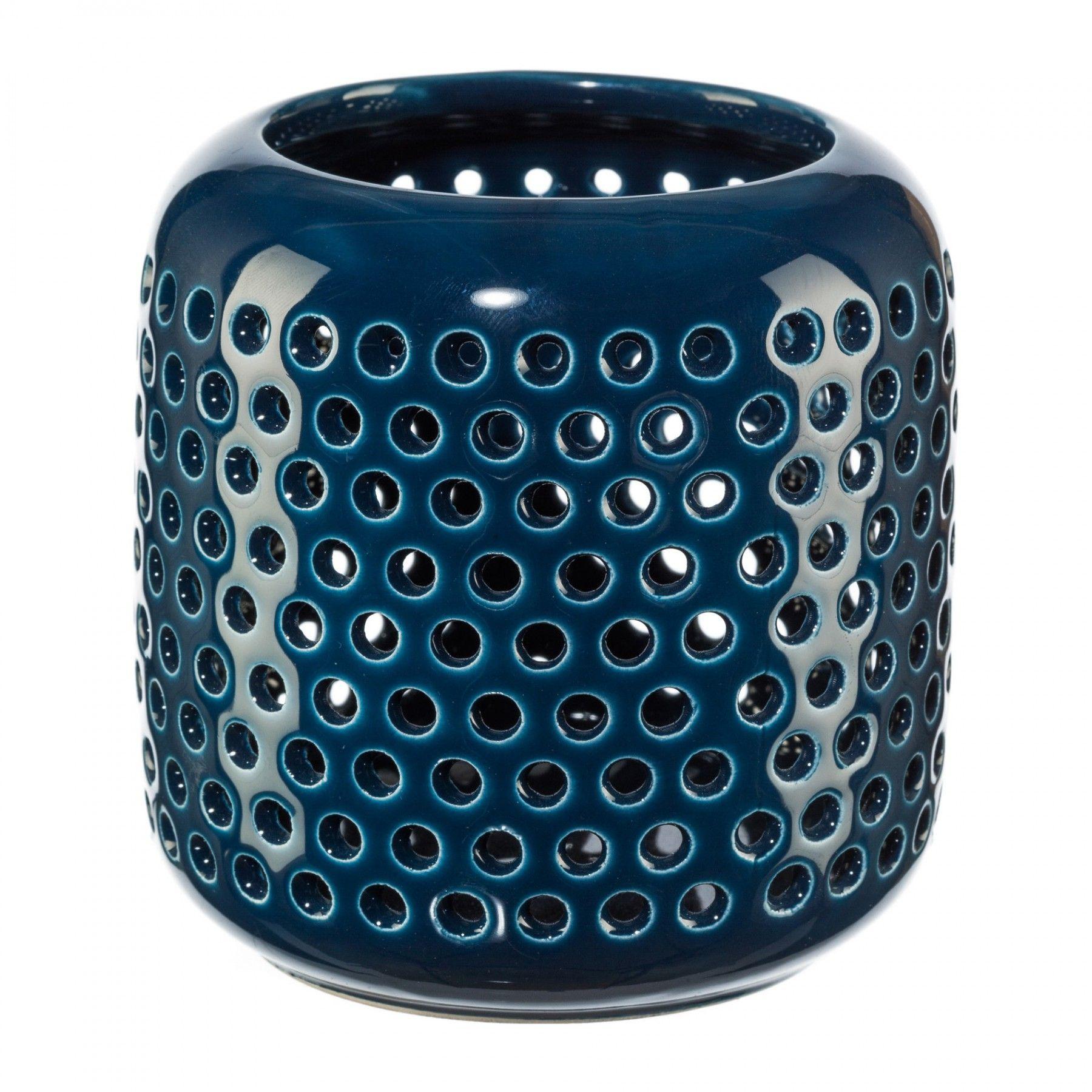 Homefinity Metall Sternschale mit Einem Teelichtglas Möbel & Wohnaccessoires