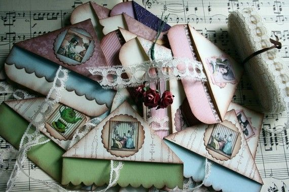 I Heart Shabby Chic: Shabby Chic French Tags & Stationery