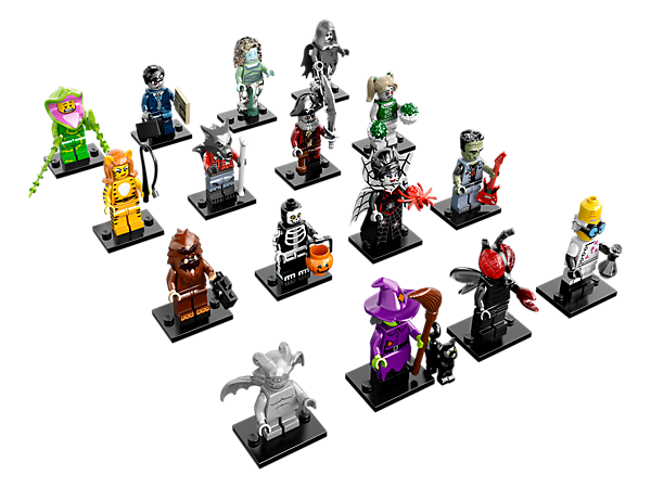 Lego Minifigures Series 14 Monsters Lego Minifigures Mini Figures Lego News