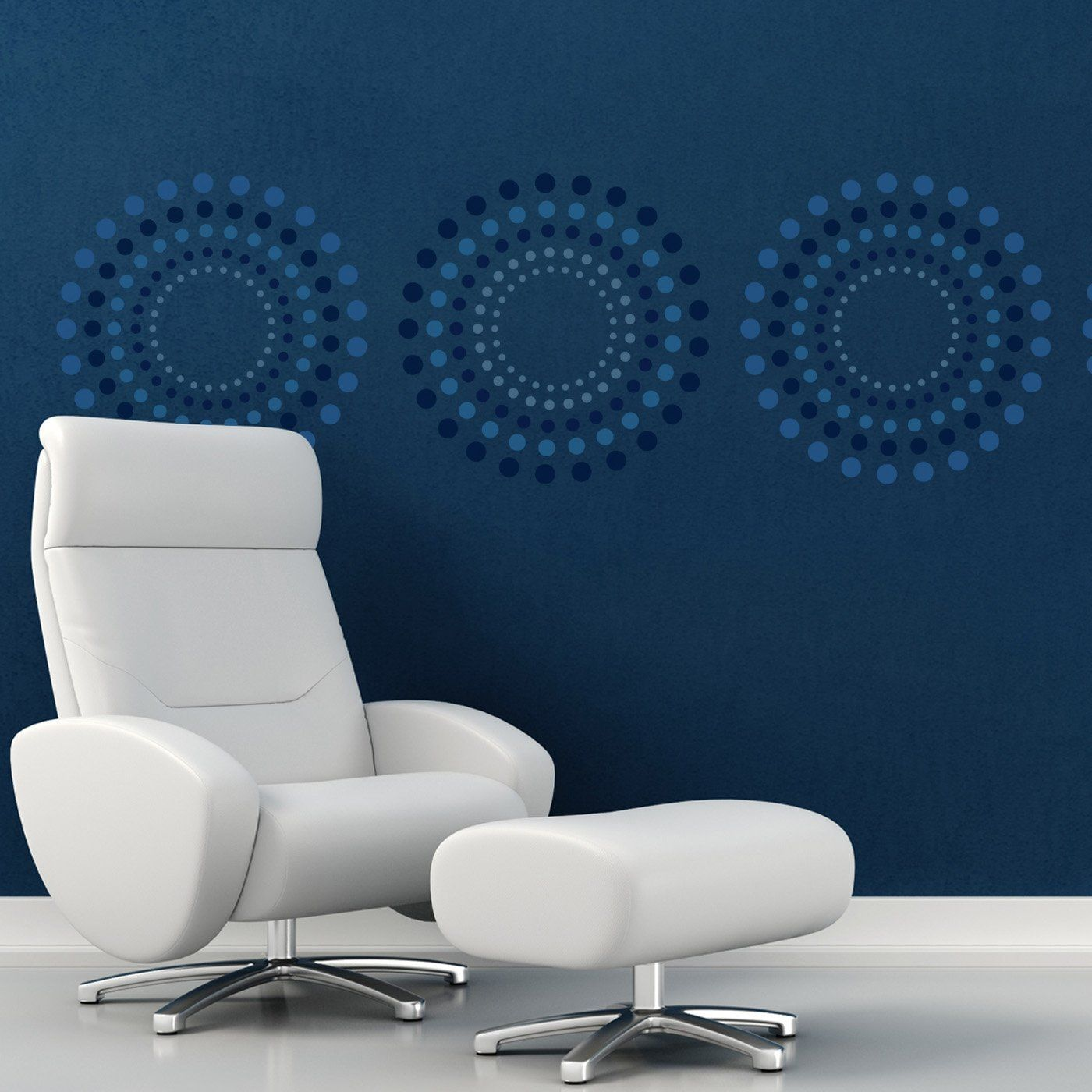Craftstar concentric circles geometric wall stencil large craftstar concentric circles geometric wall stencil large reusable template for diy home decor amipublicfo Gallery