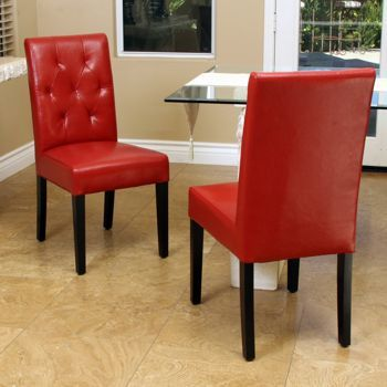 Angelo Bonded Leather Dining Chair 2 Pack Costco 159 99