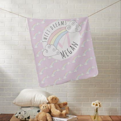 Baby girl hidden monogram doodle rainbow with name baby blanket baby girl hidden monogram doodle rainbow with name baby blanket baby gifts child new born negle Image collections