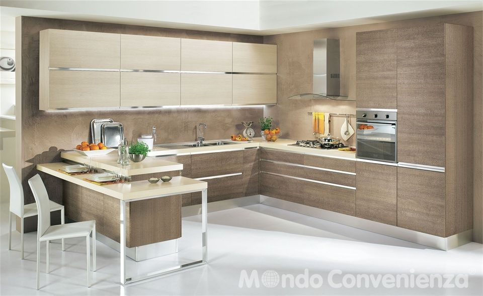 Cucina Oasi - Mondo Convenienza | Arredamento | Pinterest | Office ...