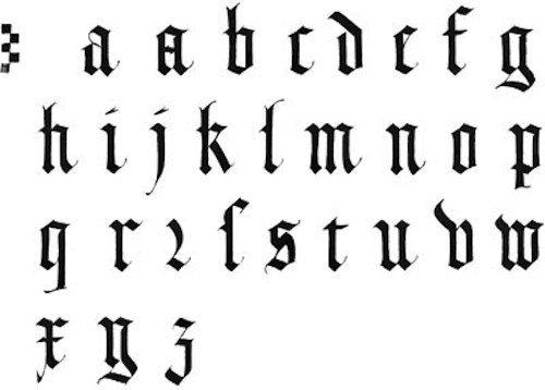 Minuscule gothique textura calligraphy pinterest minuscule plume et lumire les alphabets la gothique textura thecheapjerseys Image collections