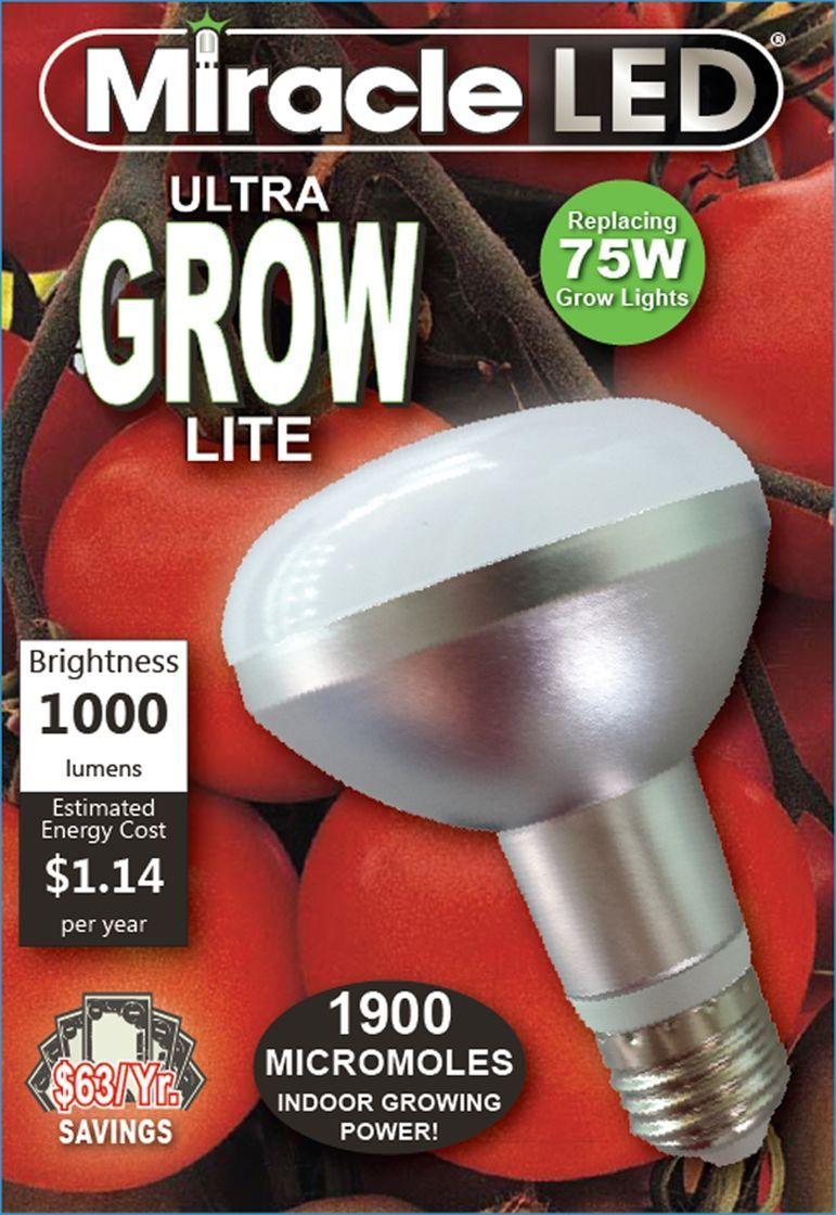 Miracle Led Ultra Grow Light Bulb Free Shipping On 99 Orders Grow Light Bulbs Led Grow Light Bulbs Grow Lights