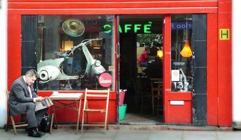 The Scooter Cafe, Bermondsey