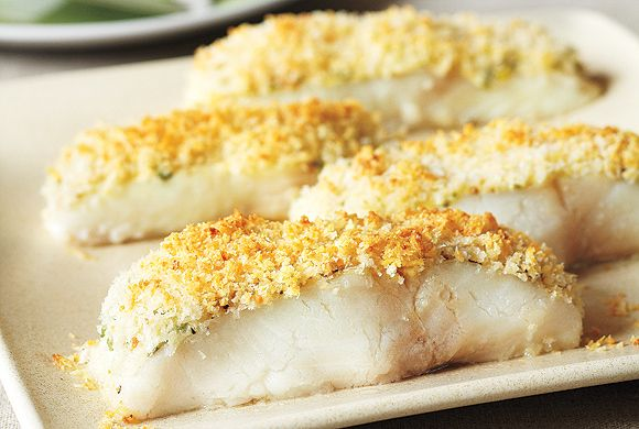 Recipes for lunch and dinner parmesan crusted crusts for Parmesan crusted fish