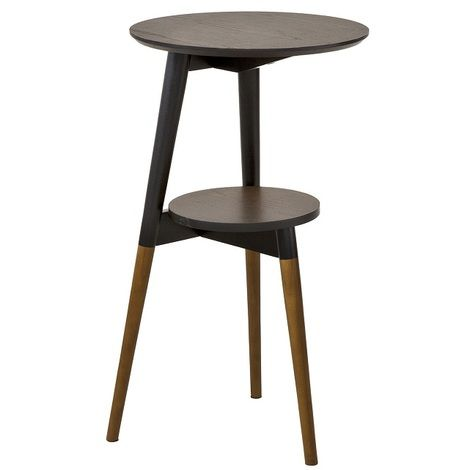 So 2 Tier Round Wooden Side Table Fbt39 Br Furniture