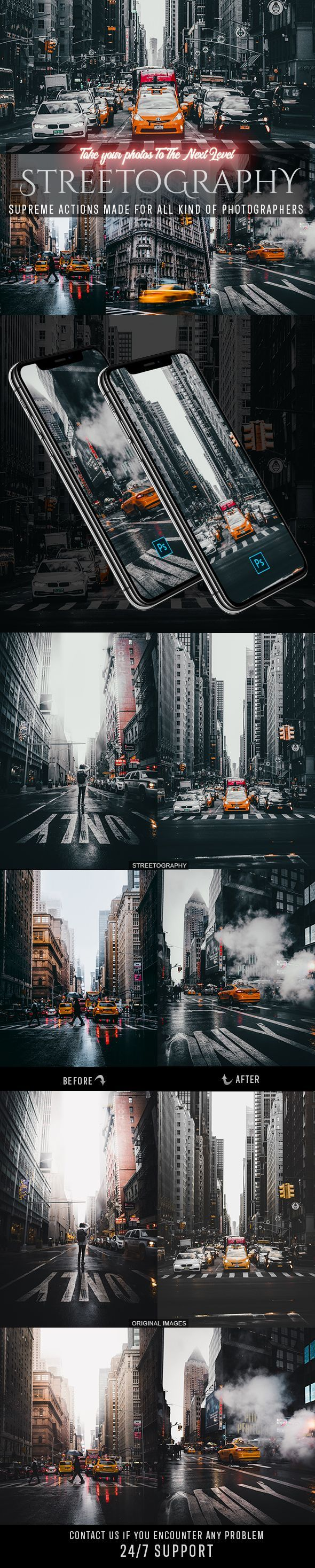 Streetography Photoshop Actions - Creative photography - #Actions #Creative #Creativephotography #Photography #Photoshop #Streetography