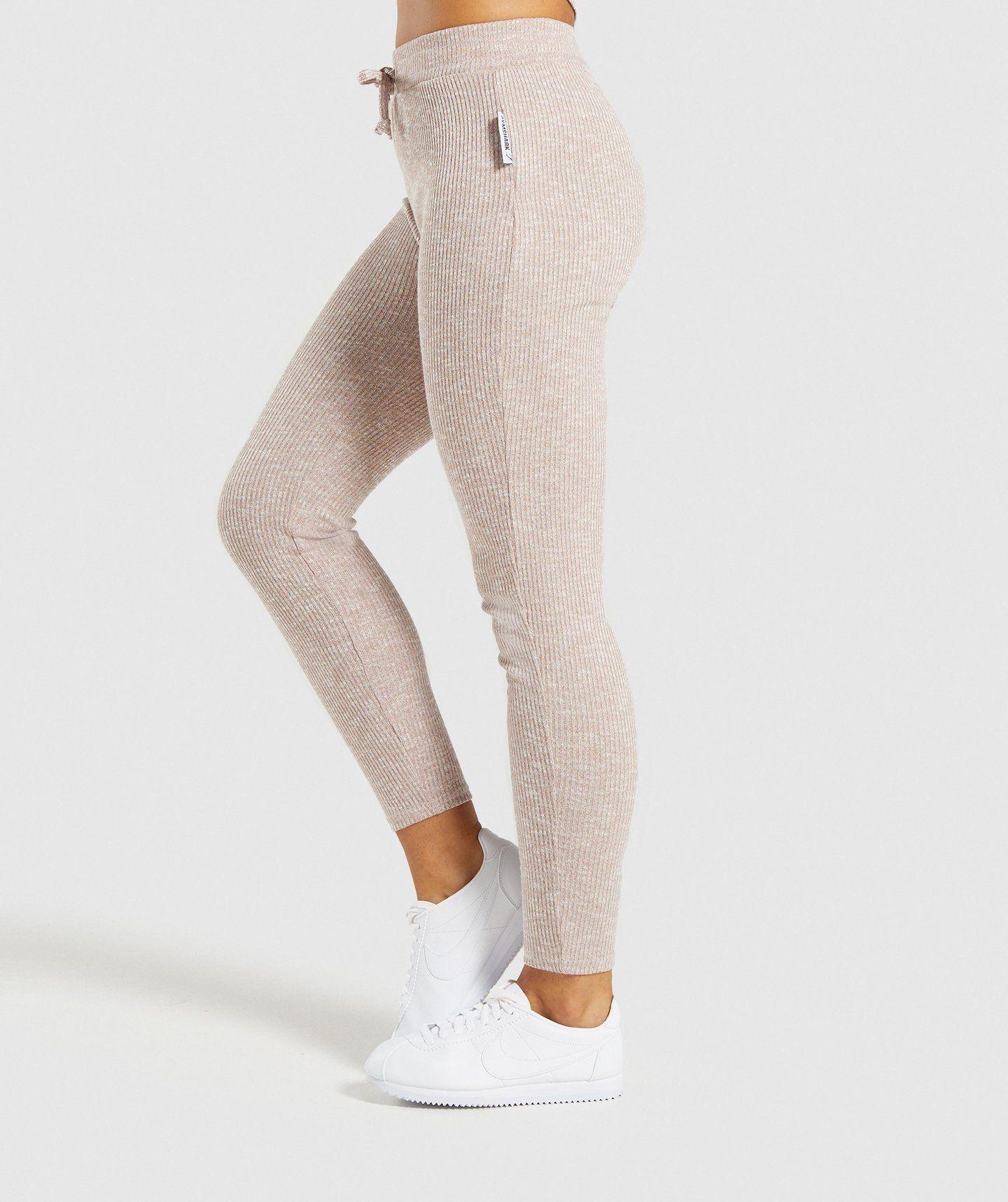ed345dcba48d50 Gymshark Slounge Leggings - Taupe Marl in 2019 | Wish list ...
