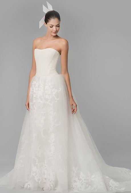 a5af3dbec6f 28 Floral Wedding Dresses Perfect for a Spring Wedding