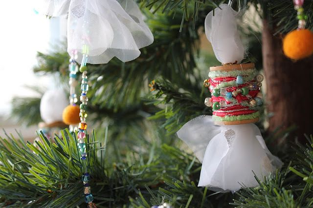 MarveLes Art Studios: A Beaded Garland and Blog Love!