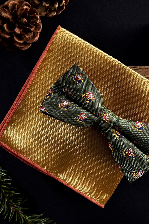 Christmas Bow tie Tweed Bow tie Harris Tweed Bow Tie Detachable Bow tie,Holiday  red Bow Tie Dog Bow Tie
