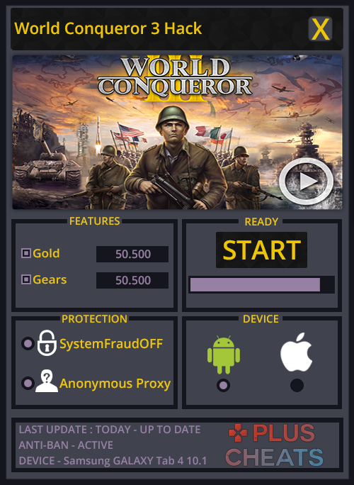 About World of Conquerors Hack Cheat Tool Our World of