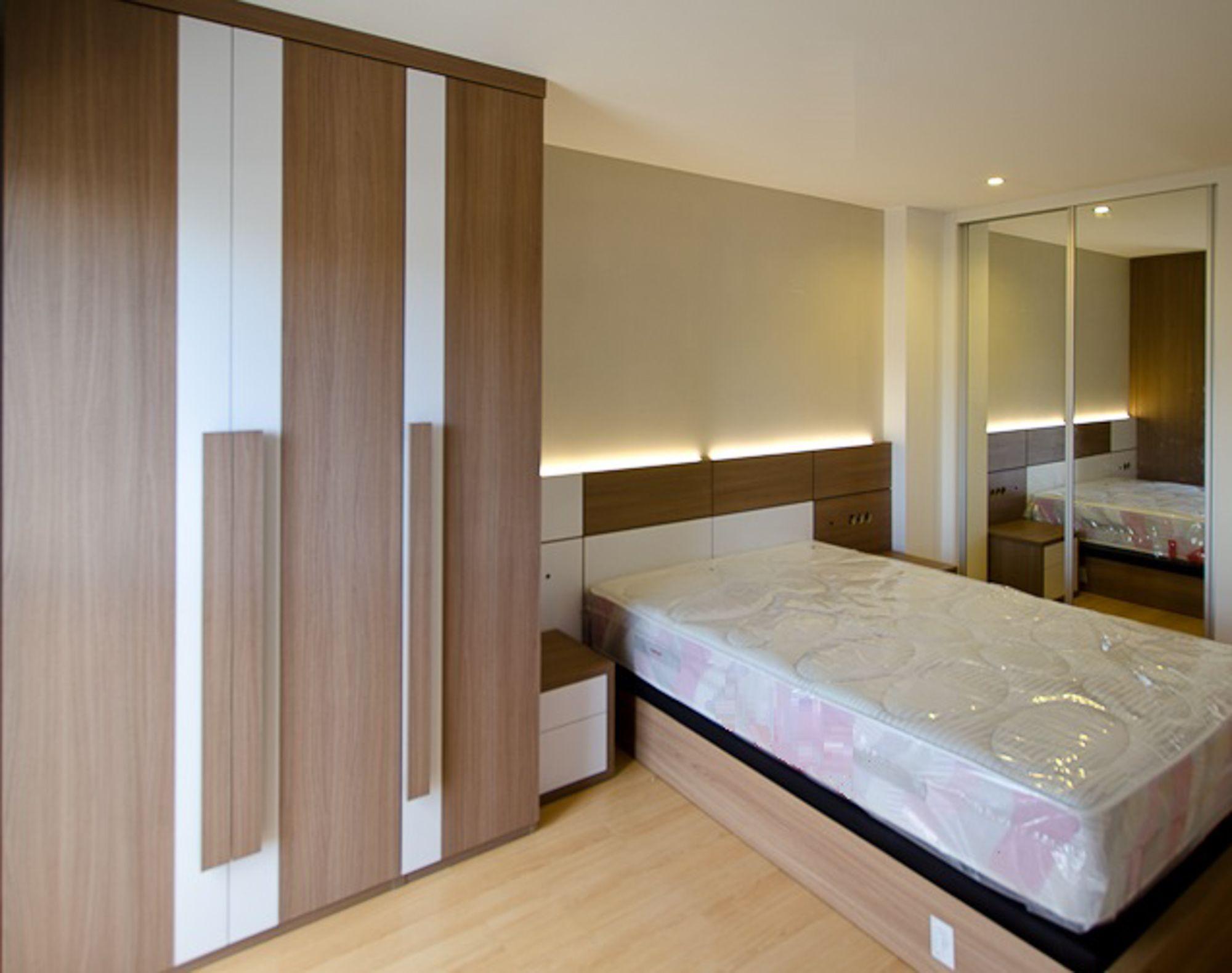 dormitorio de matrimonio moderno de diseño a medida. . web