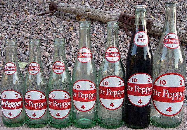 Old dr pepper bottles 10 2 4