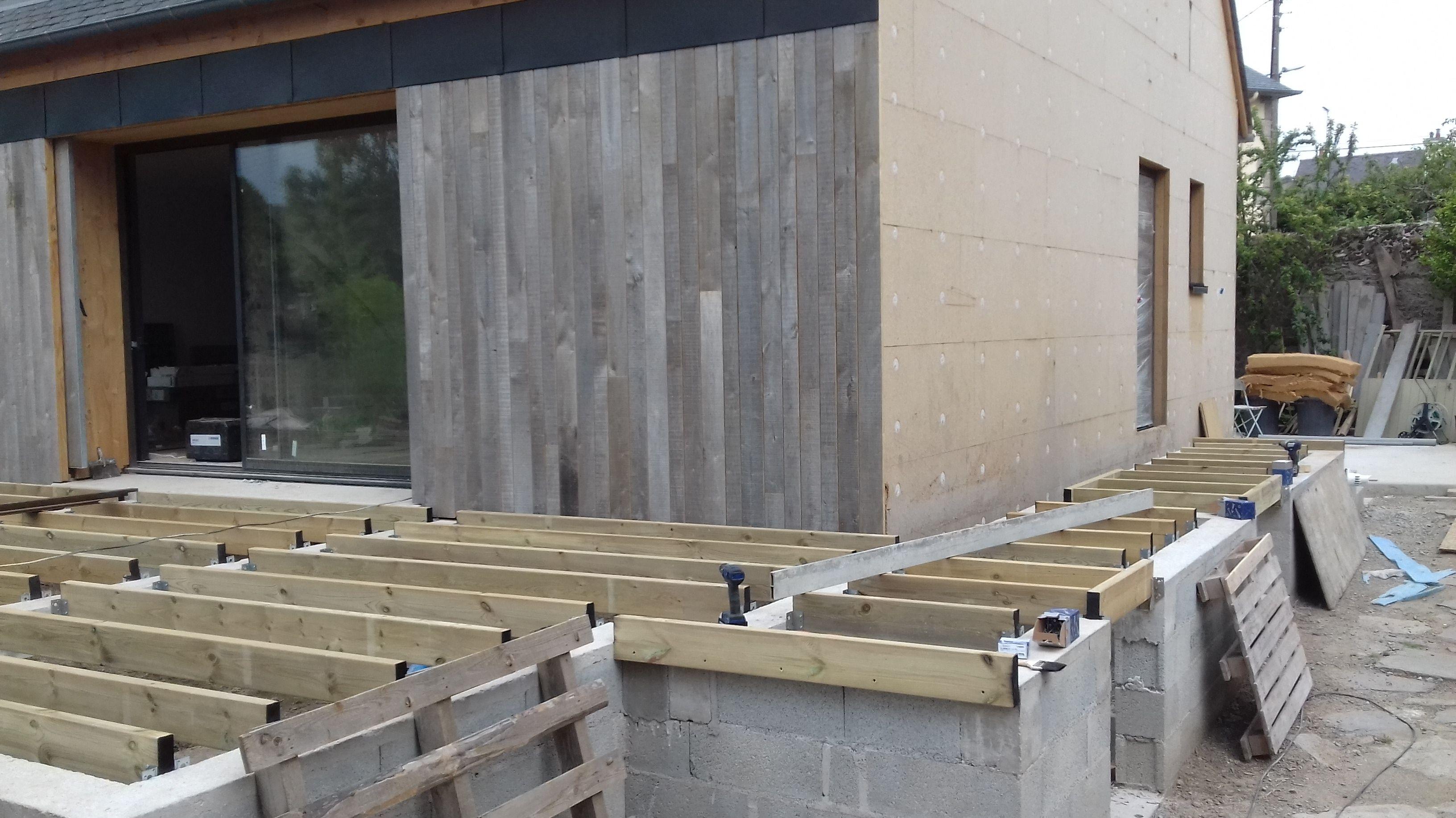 Vente Pose D Une Terrasse Moso Bamboo Xtreme En Bambou Densifie Comprenant La Mise En Place D Une Ossatu Construire Terrasse Bois Terrasse Bois Escalier Bois