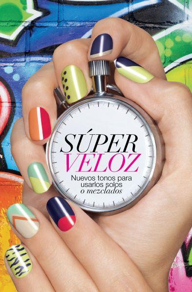 Expresa tu estilo con nuestro Speed Dry+ Nail Enamel...Esmalte de uñas de  secado rápido. Se seca en menos de 30 segundos. 956b755fbef3