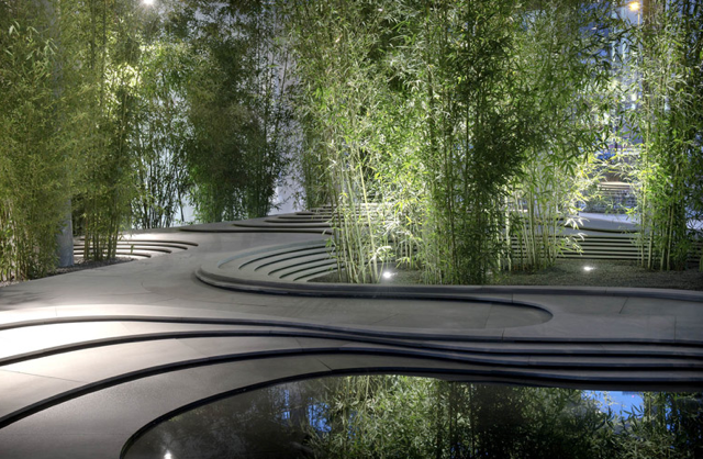 Amazing Garden by Kengo Kuma