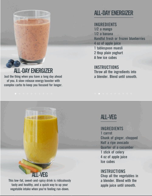 These look really yummy!  Magic bullet smoothies, Bullet smoothie