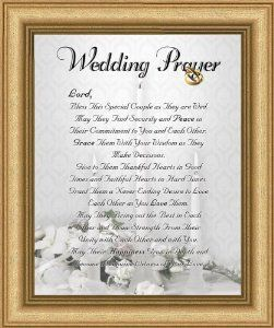 wedding marriage anniversary prayer satin silver frame x inspirational christian gift wall dcor home kitchen