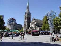 Christchurch New Zealand - the cathedral in all her style. http://graemeteague.net