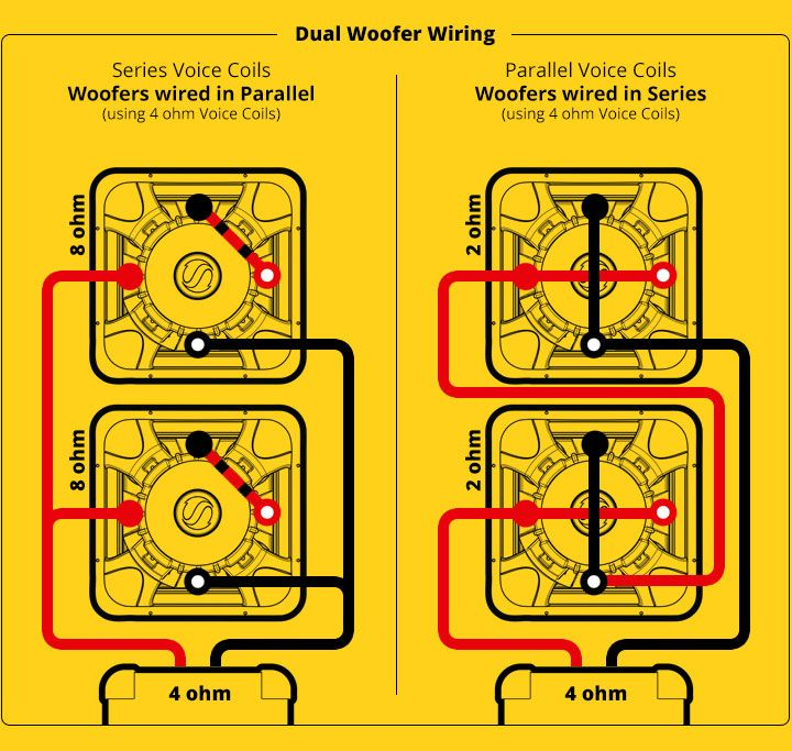 subwoofer, speaker \u0026 amp wiring diagrams kicker� car in 2019 Infinity Speakers Wiring Diagram