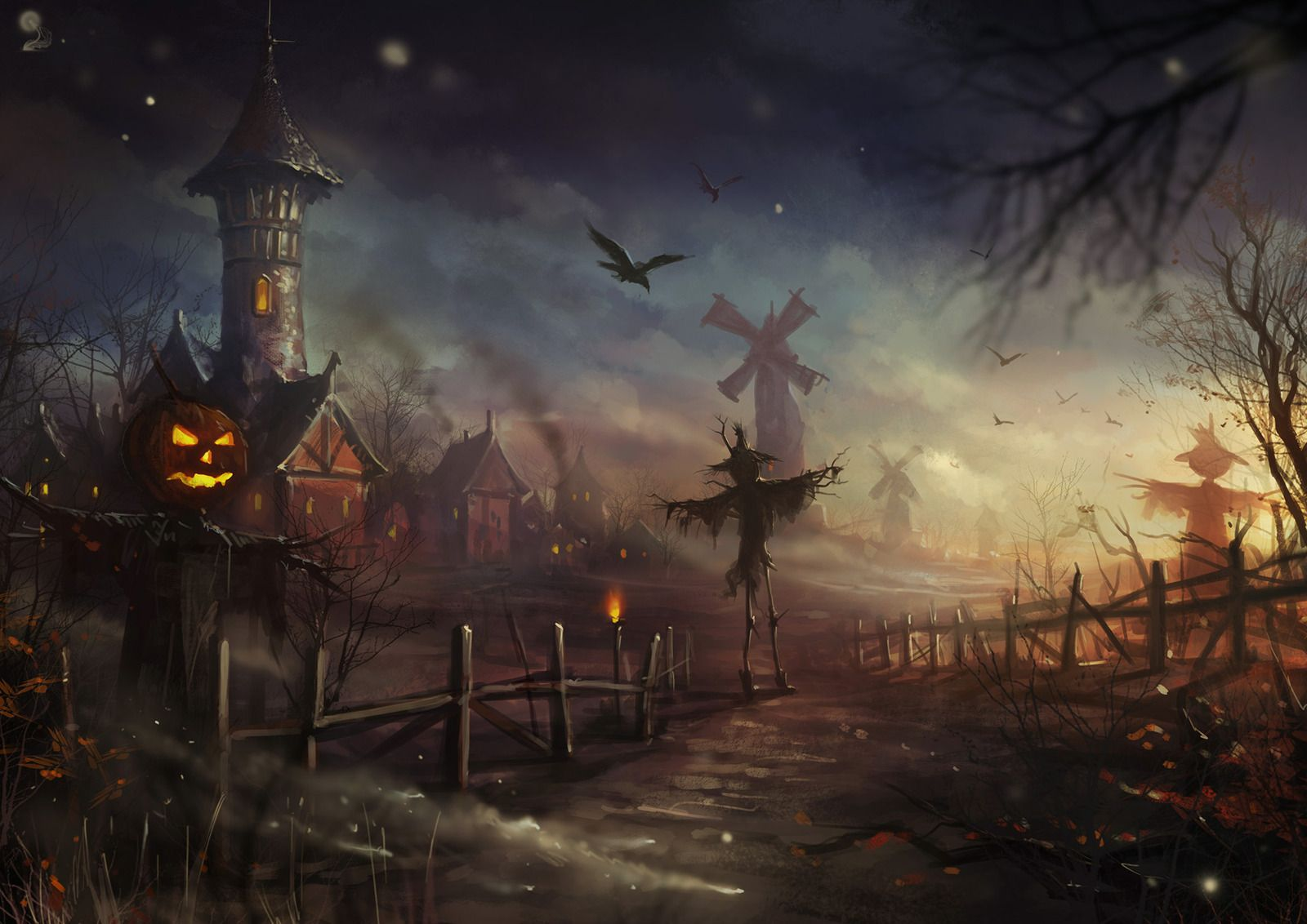 halloween picture questions