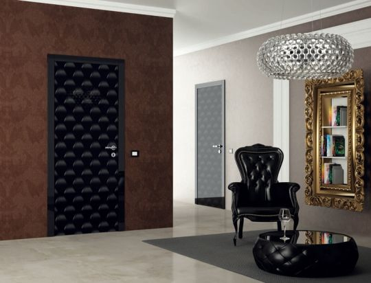 Sensunels Futuristic And Colorful Interior Door Collection By