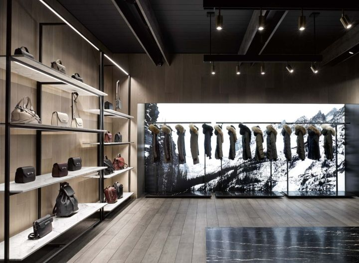 Mackage flagship store by Burdifilek, Montreal – Canada » Retail Design Blog