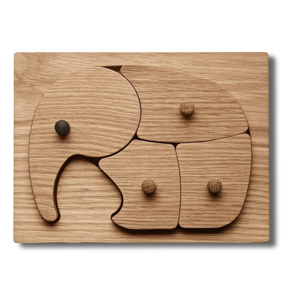 Elefant Puslespill, Tre, Georg Jensen