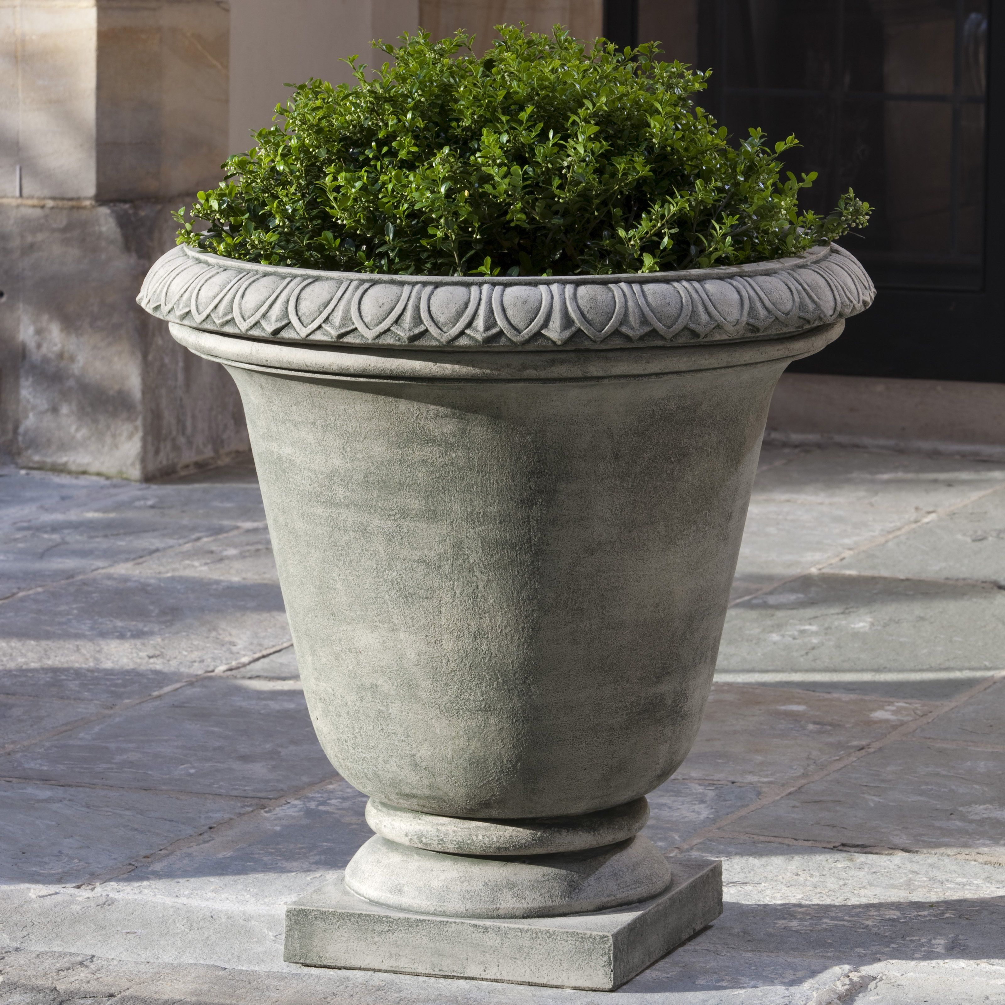 finish which planter urn aged has iron almost stone pin urns a this resembles lovely