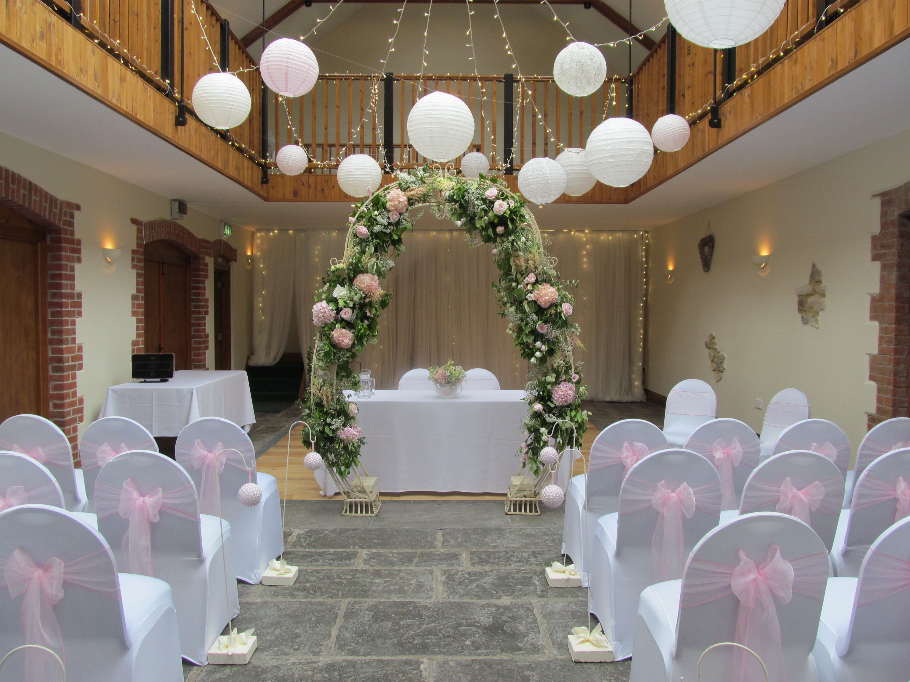 the osborne hall wedding venue dorset the victorian barn civil ceremony