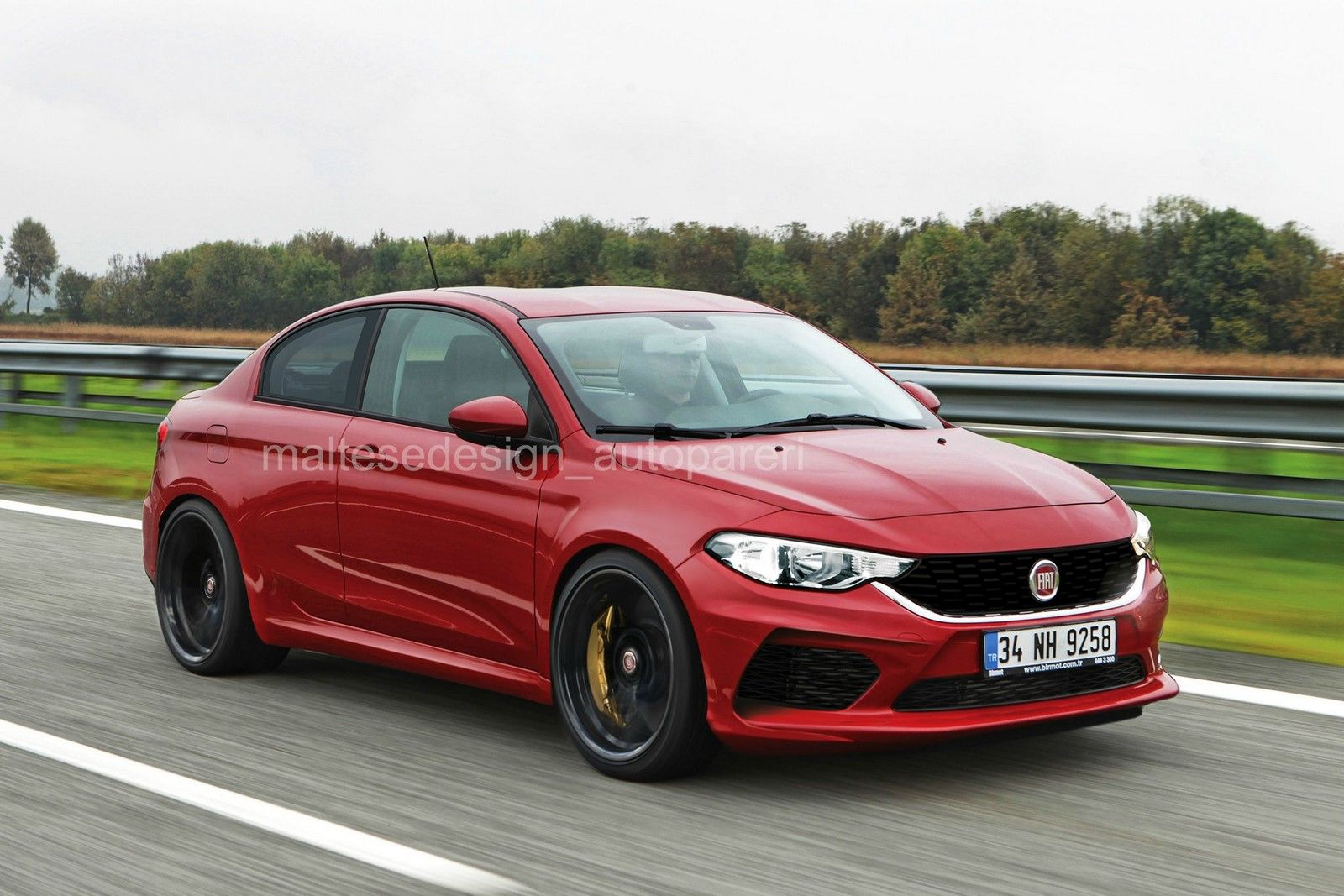 Fiat Abarth Tipo Coupe rendered - Will Fiat make one? | Fiat abarth