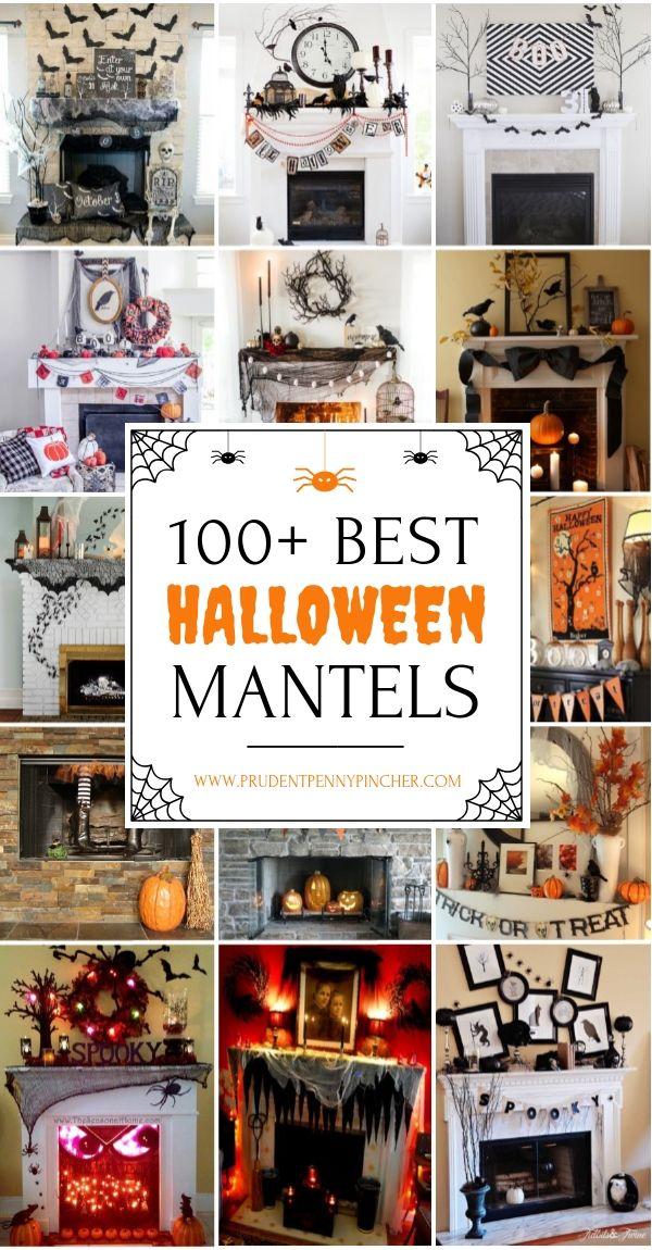 100 Best Halloween Mantel Decor Ideas Halloween Pinterest