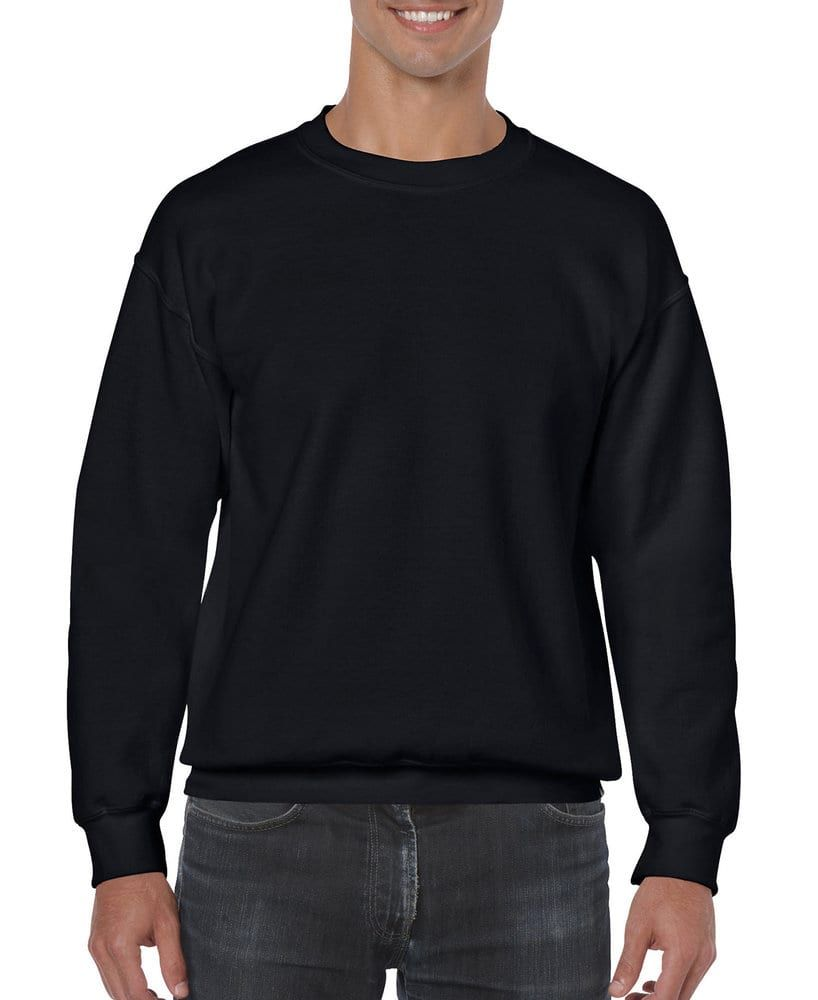 Gildan 18000 Heavy Blend Crewneck Sweatshirt Mens Crewneck Sweatshirt Sweatshirts Crew Neck Sweatshirt [ 1000 x 818 Pixel ]