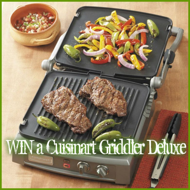 Leite's Culinaria Griddler Giveaway WIN a Cuisinart Griddler Deluxe. (ARV $299) Enter 3X's per day-ENDS 4/13