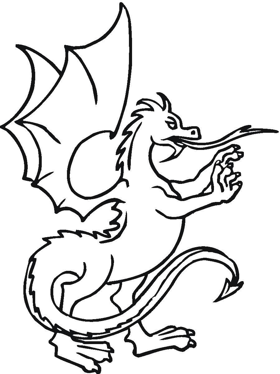 Dragon coloring pages | http://www.rvspug.org | Pinterest