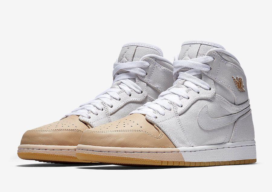 6a9b23c645cb Air Jordan 1 Mid Tan Toe AH7389-107 - Sneaker Bar Detroit