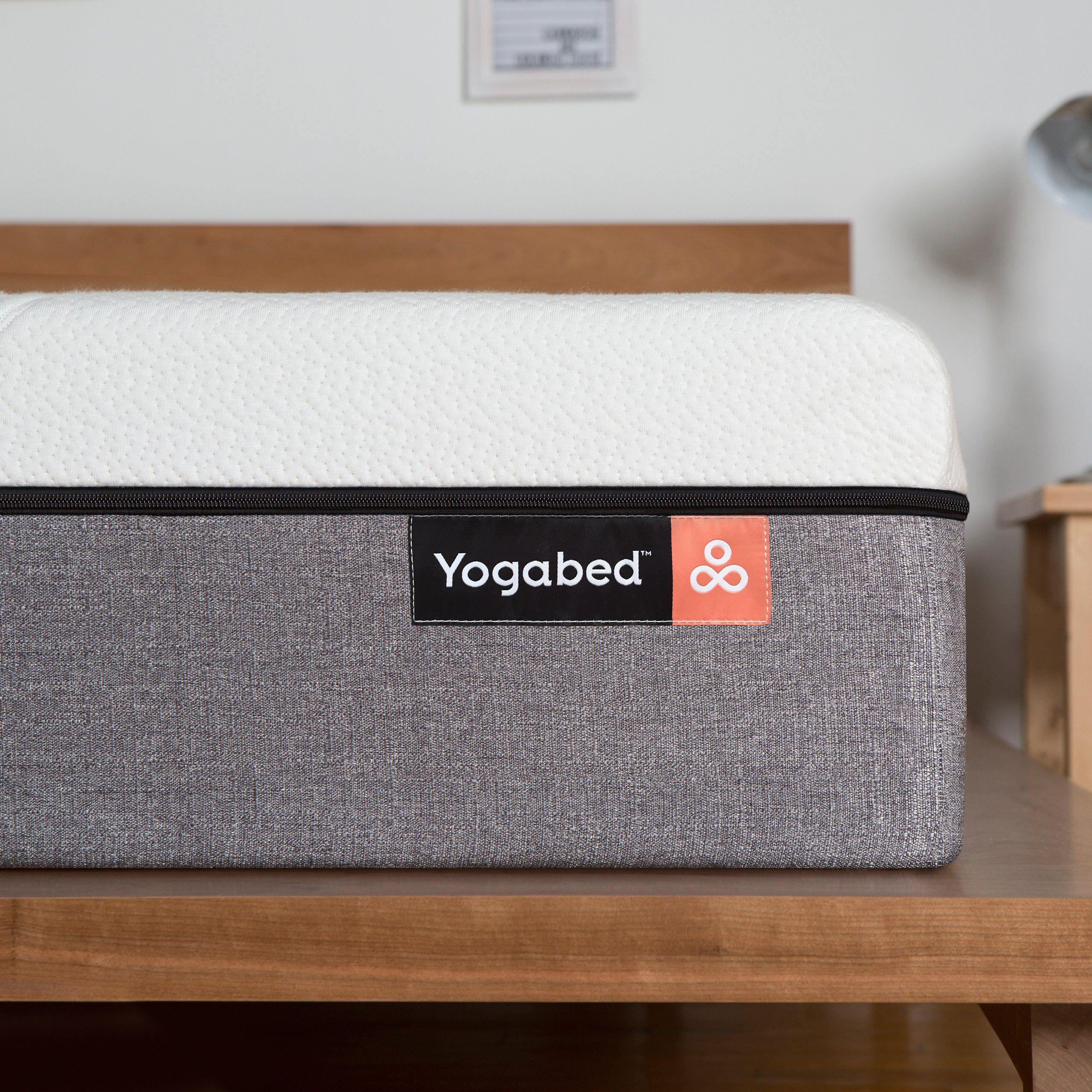 yogabed luxury memory foam mattress plus 1 memory foam pillow twin